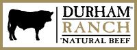 Durham natural beef logo