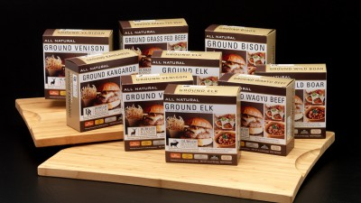 Packaged ground meats