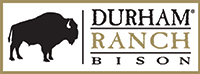 Durham Ranch Bison Logo