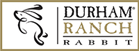 Durham ranch rabbit logo